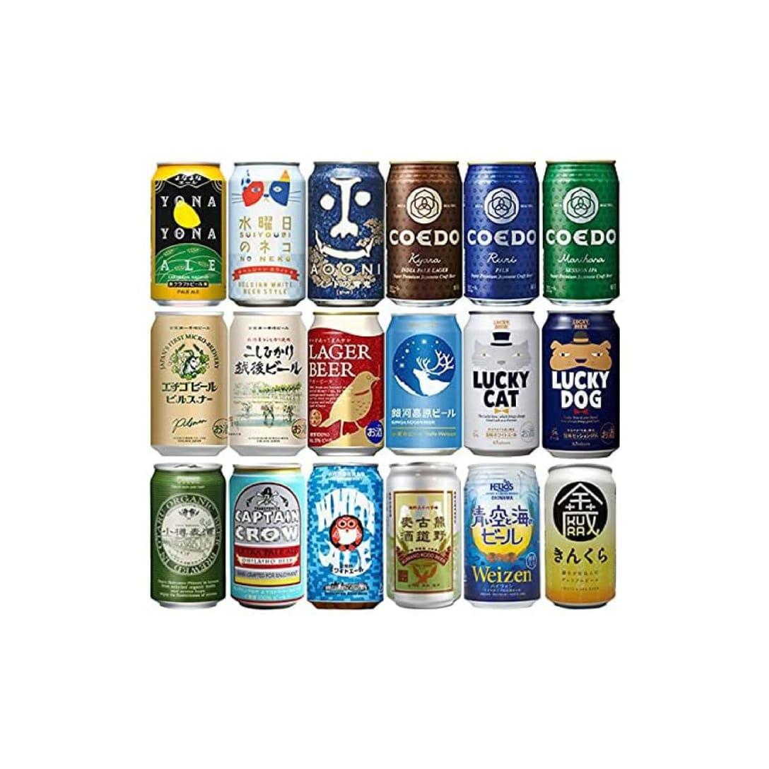 クラフトビール 飲み比べ 18本 逸酒創伝 オリジナルギフト ¥7,000(消費税込)