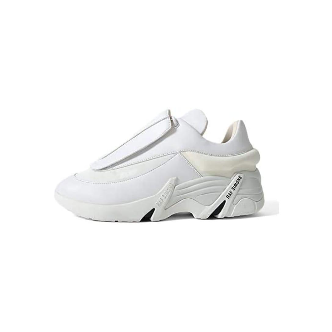 [Raf Simons Runner] ラフシモンズランナー ANTEI レザー スニーカー HR740001S シューズ メンズ【40-25.5cm-white】