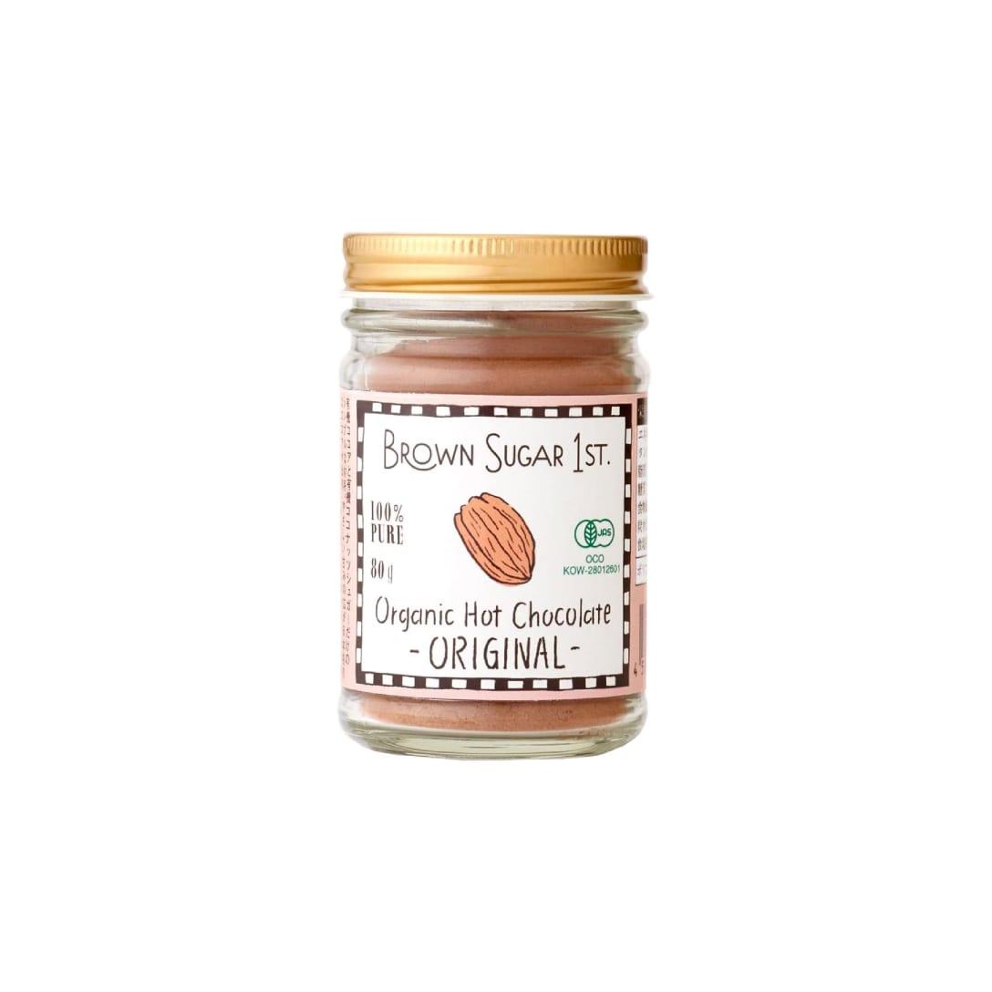 オーガニック ホットチョコレート オリジナル (有機 化学調味料無添加 100%天然 非加熱 ブラウンシュガーファースト)