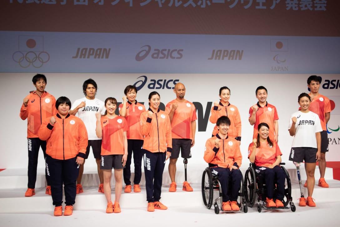 「アシックス」が手掛けた日本代表オフィシャルウェア Image by FASHIONSNAP
