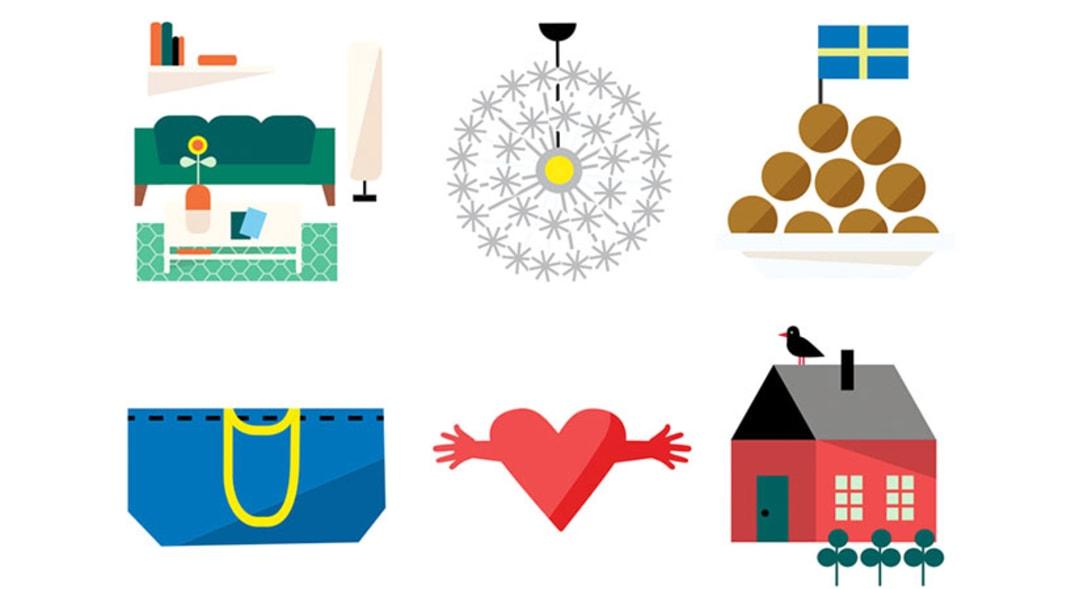 IKEAによるオリジナル絵文字