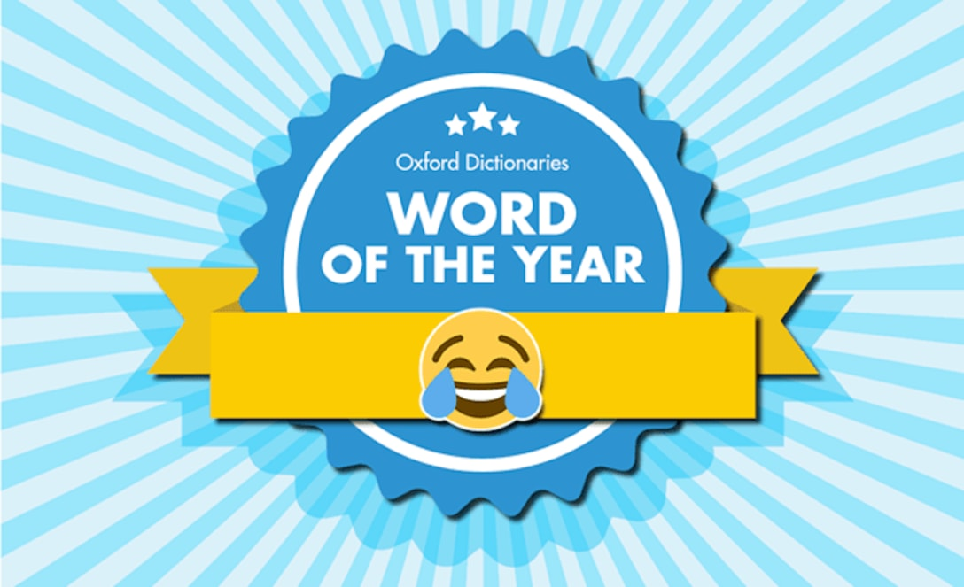 2015年のWord of the year に選ばれた😂 (画像参照元:Oxford Language)