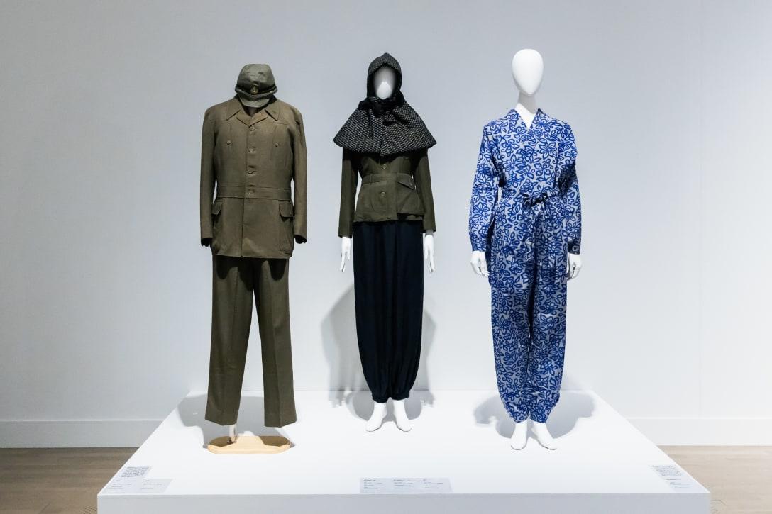 1940年代のもんぺや国民服