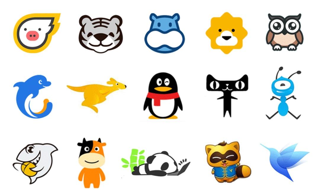 中国企業のブランドロゴ