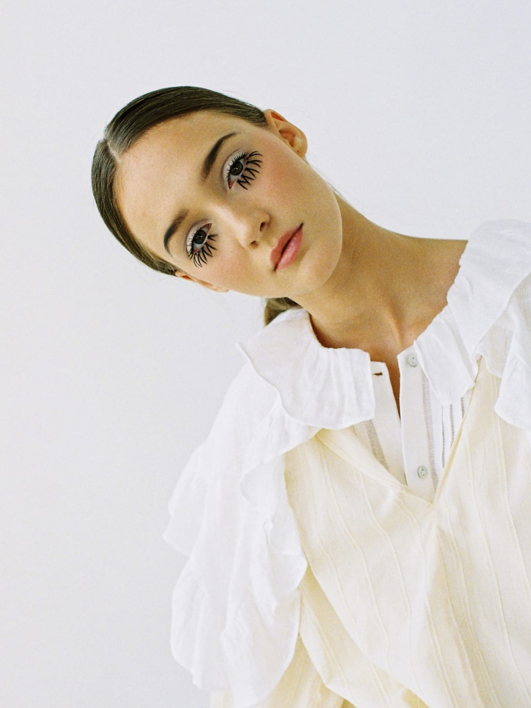 shirt by ZARA, blouse by MANGO