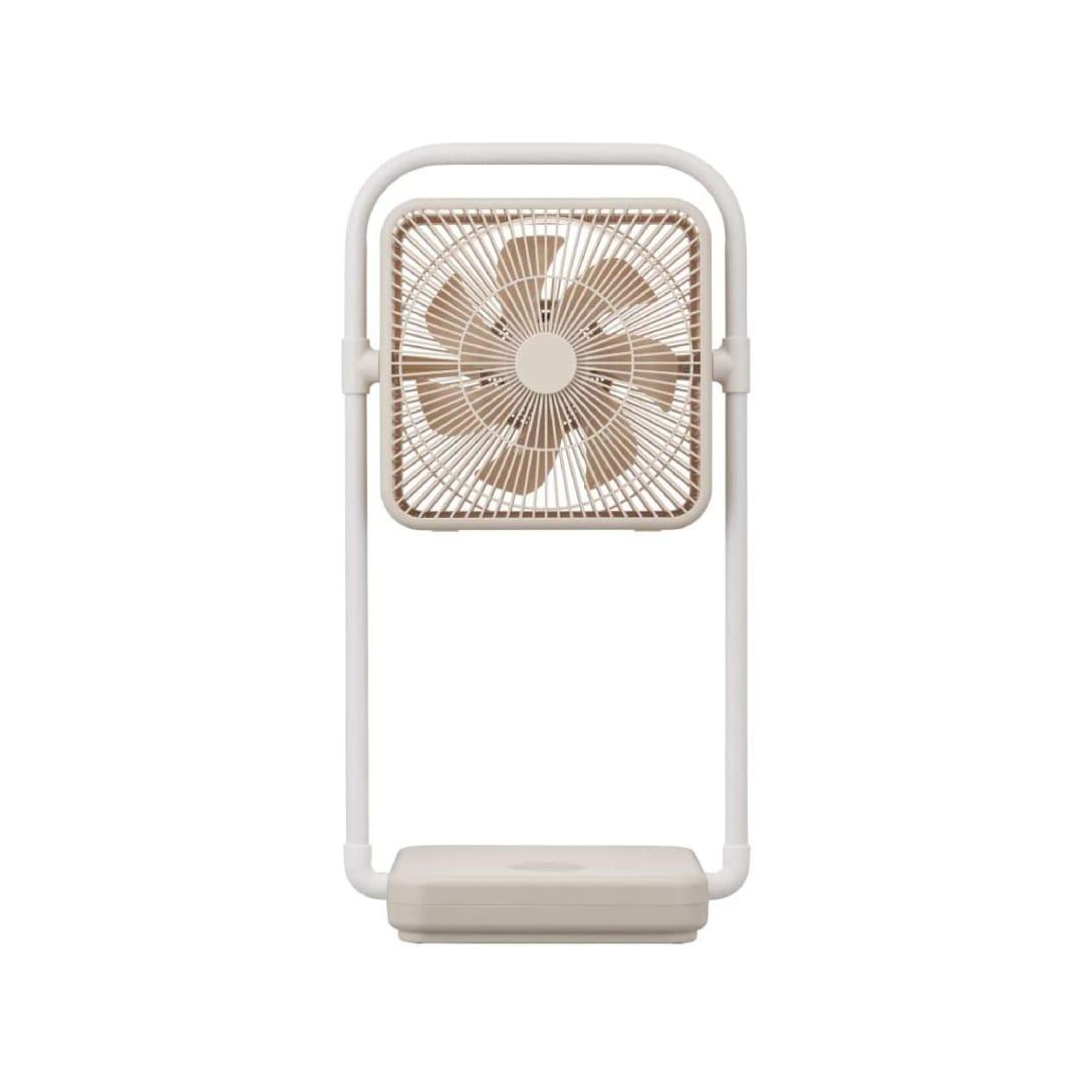 ドウシシャ フォールディングファン 折畳扇風機 TATAMU クリームベージュ ¥13,427(消費税込)
