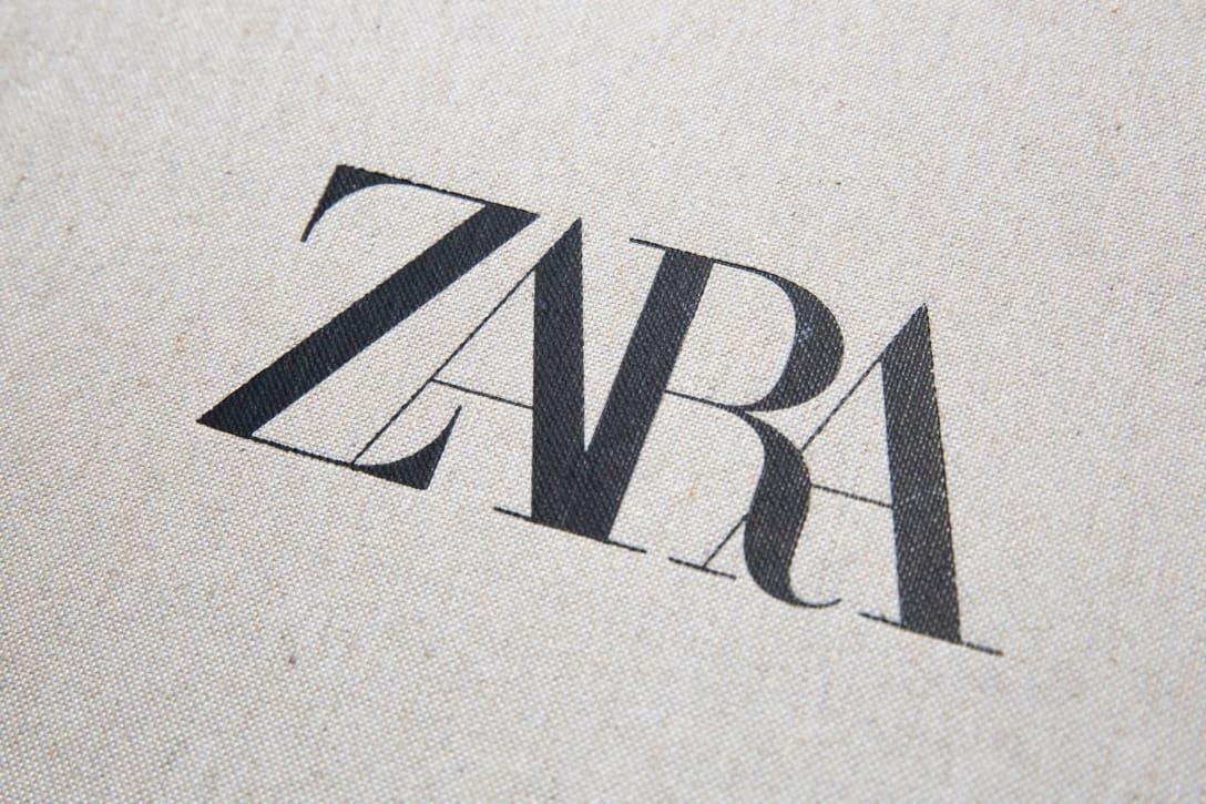 「ザラ」のロゴ Image by FASHIONSNAP