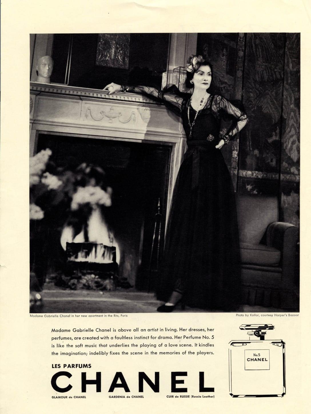 1937 Gabrielle Chanel by Francois Kollar ©︎CHANEL