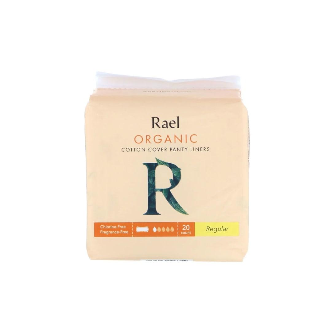 Rael, オーガニックコットンカバーパンティライナー、レギュラー、20枚 ¥601(関税・消費税込)