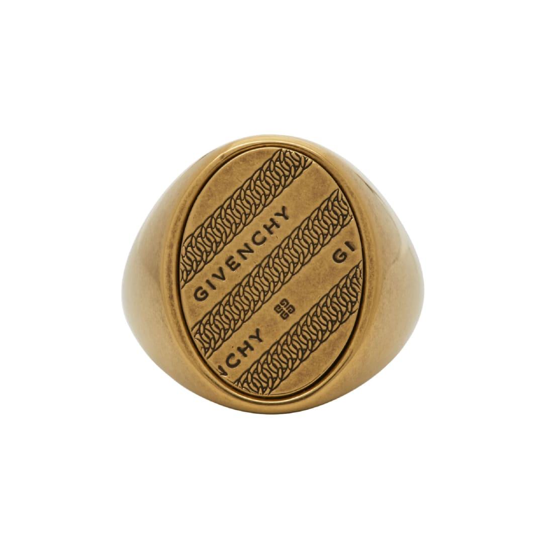 ジバンシイ(GIVENCHY) ゴールド チェーン Chevalier リング ¥31,000(関税・消費税込)