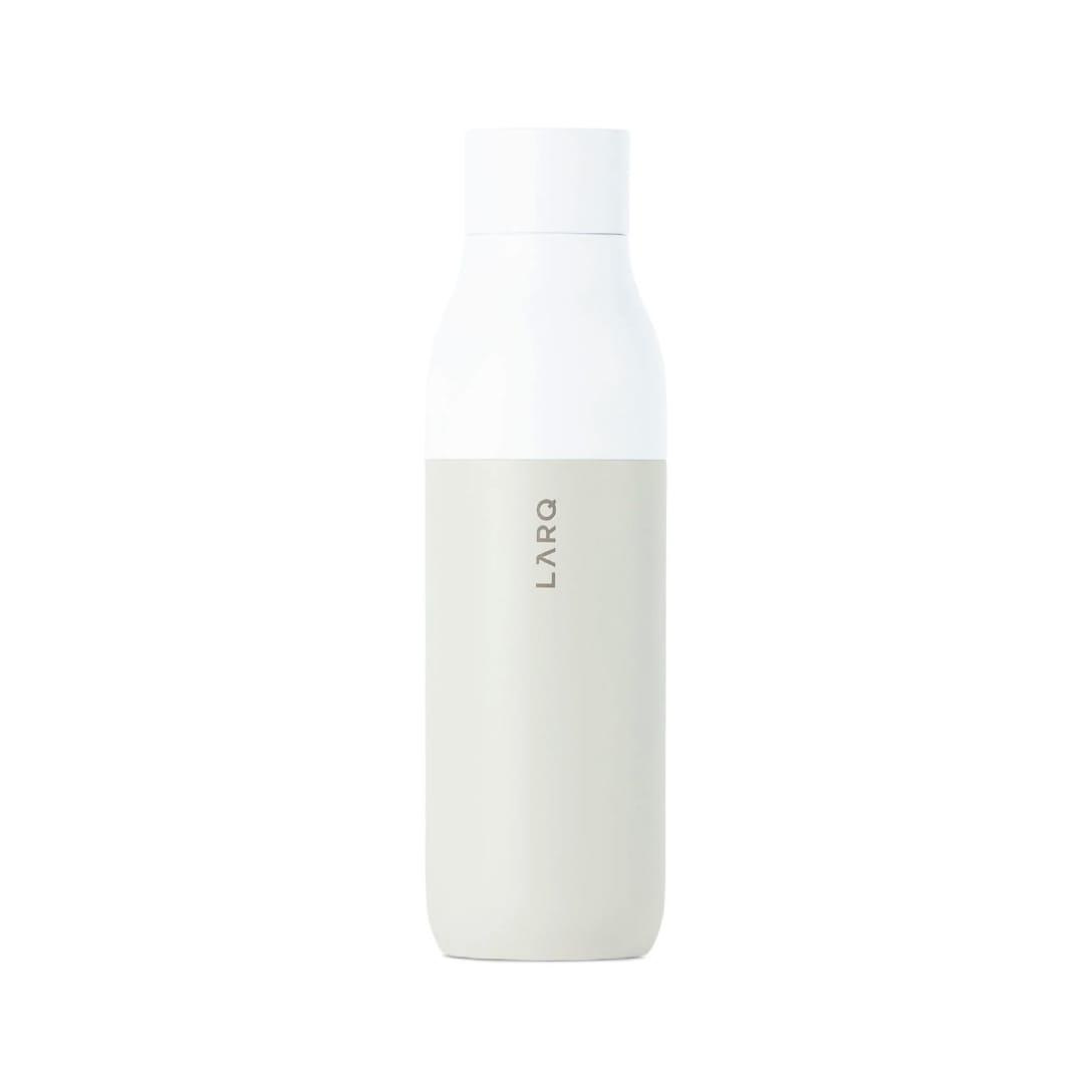 LARQ オフホワイト セルフクリーニング ボトル ¥16,500(関税・消費税込)