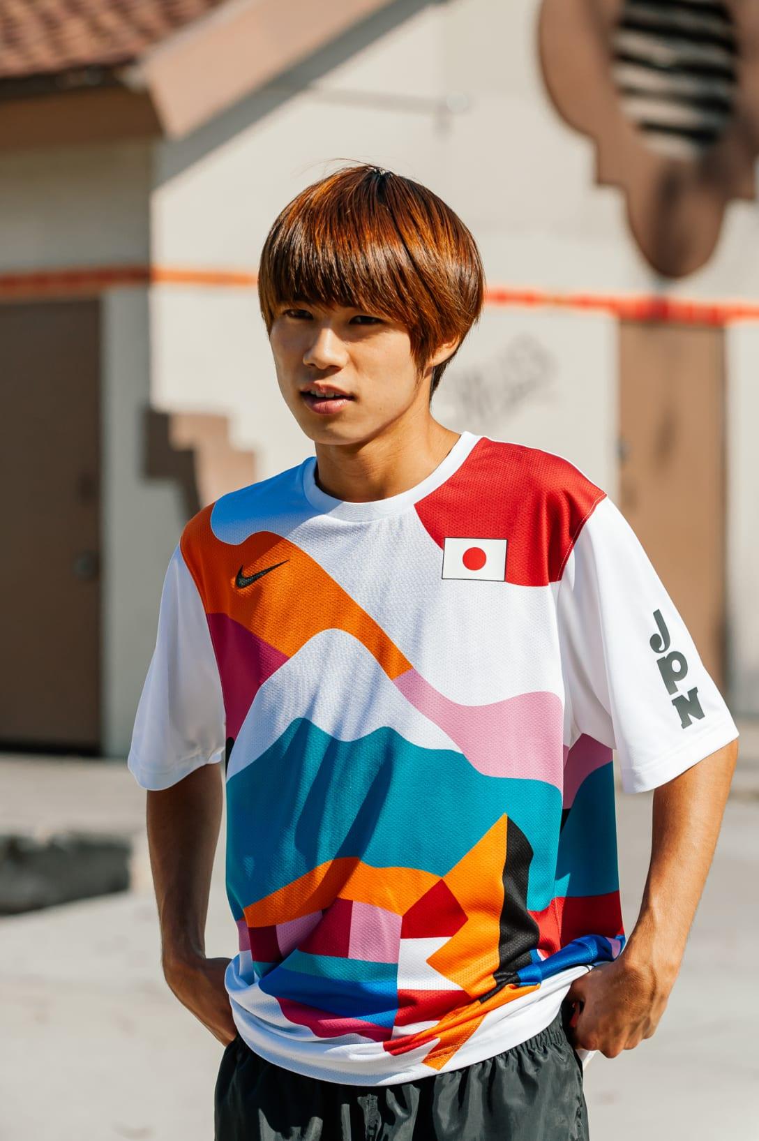 堀米雄斗選手 Image by NIKE