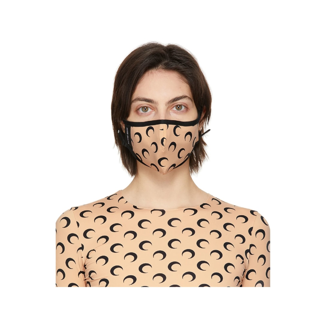 MARINE SERREタン & ブラック ムーン Daily Wear マスク $41 USD 70% OFF(関税・消費税込)