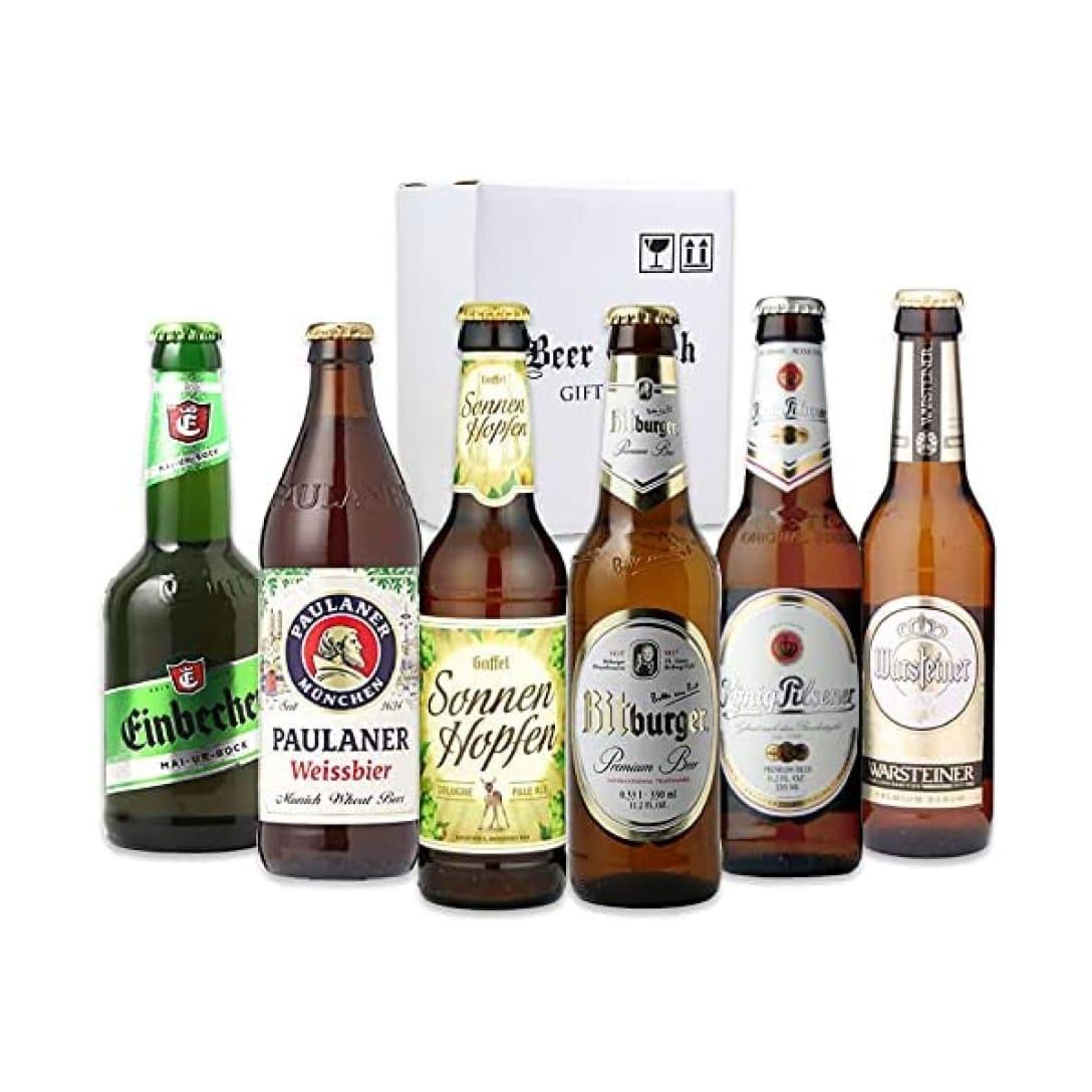 季節限定 ドイツビール6本 飲み比べセット ¥3,680(消費税込)
