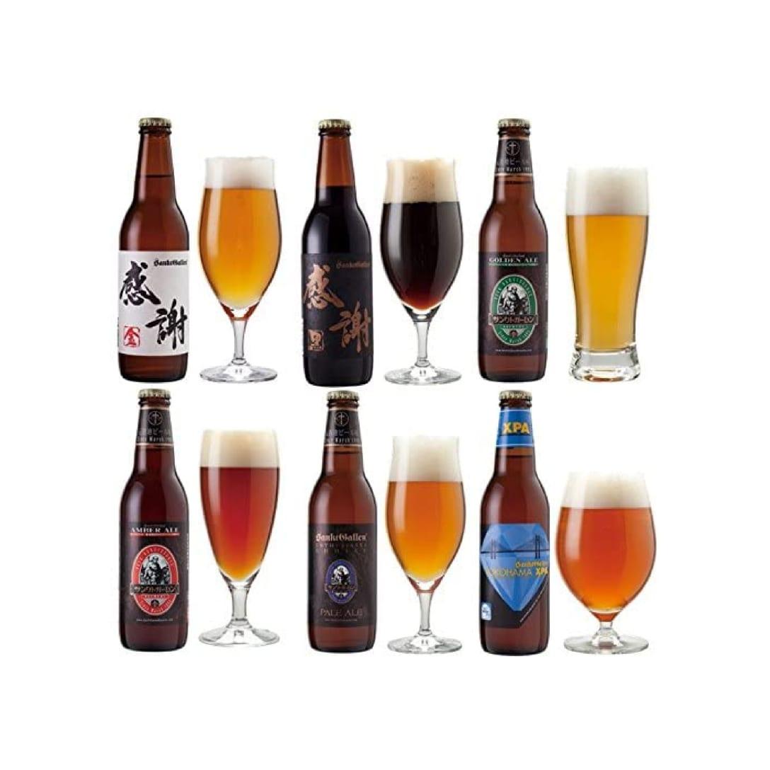 クラフトビール6種6本飲み比べセット ¥3,750(消費税込)