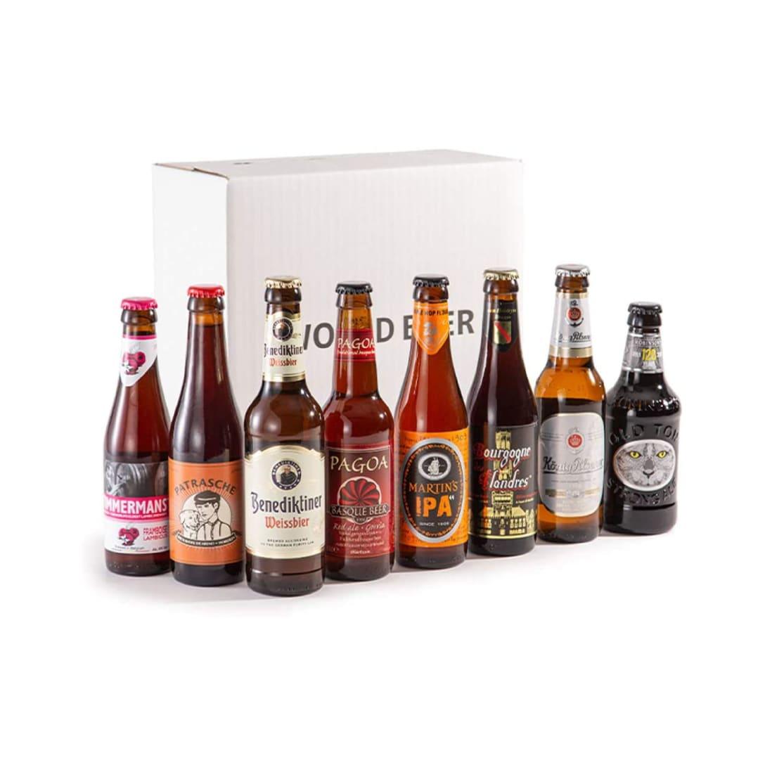 世界のビールBOX(ヨーロッパ編) 8本飲み比べ ¥4,399(消費税込)