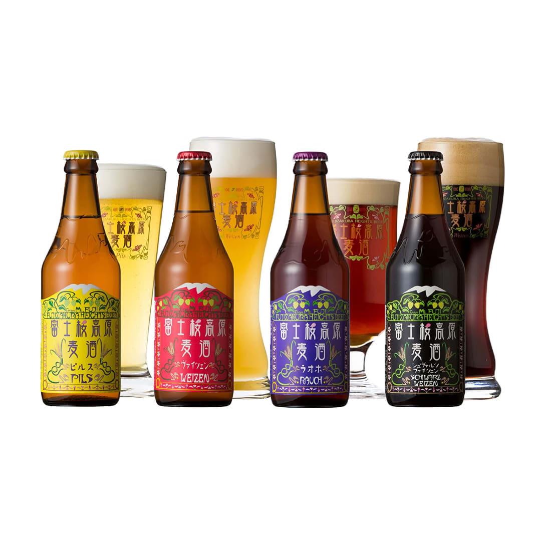 クラフトビール 富士桜高原麦酒 飲み比べ4本セット ¥1,936(消費税込)
