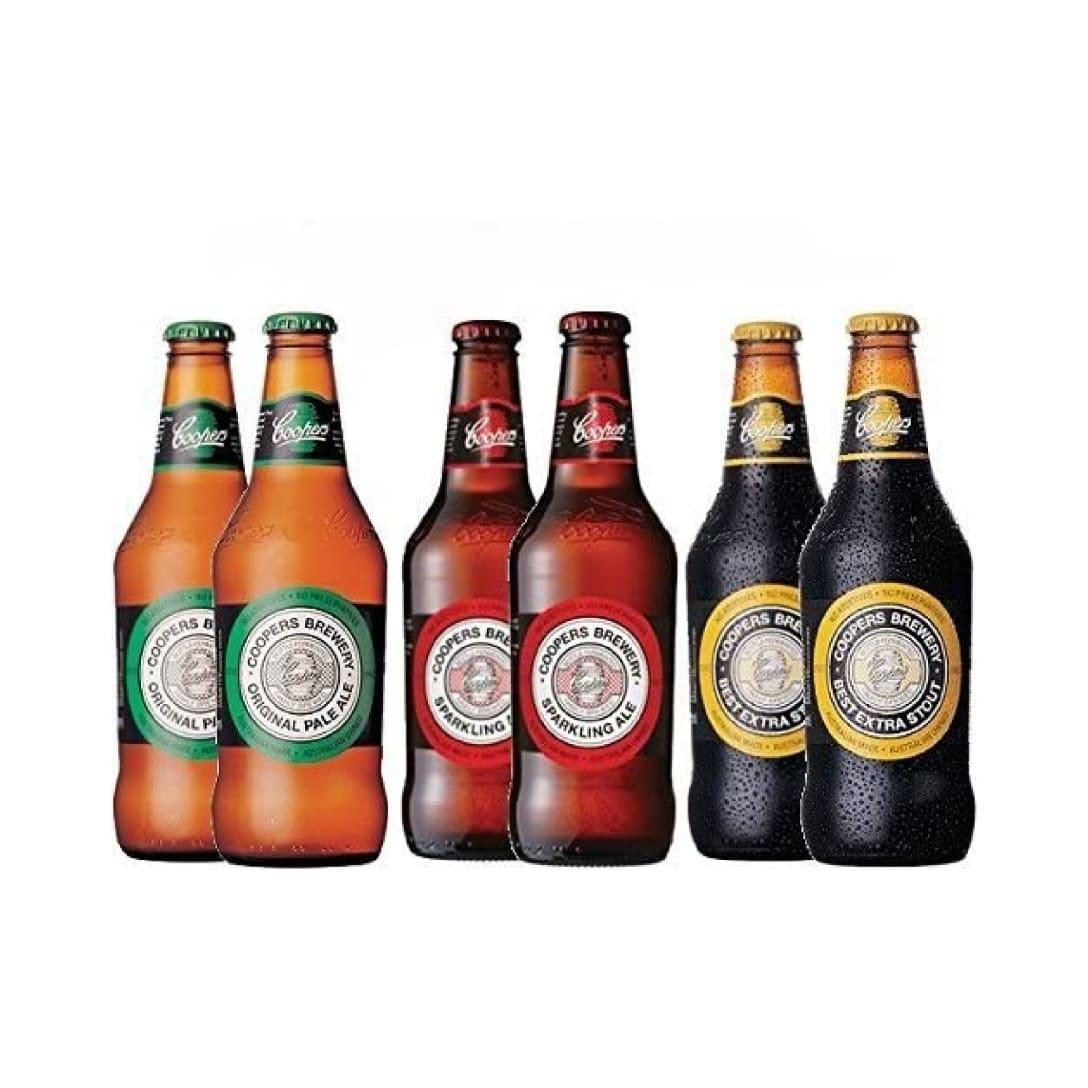 オーストラリア クラフトビール クーパーズ/Coopers 3種6本 飲み比べセット ¥3,540(消費税込)