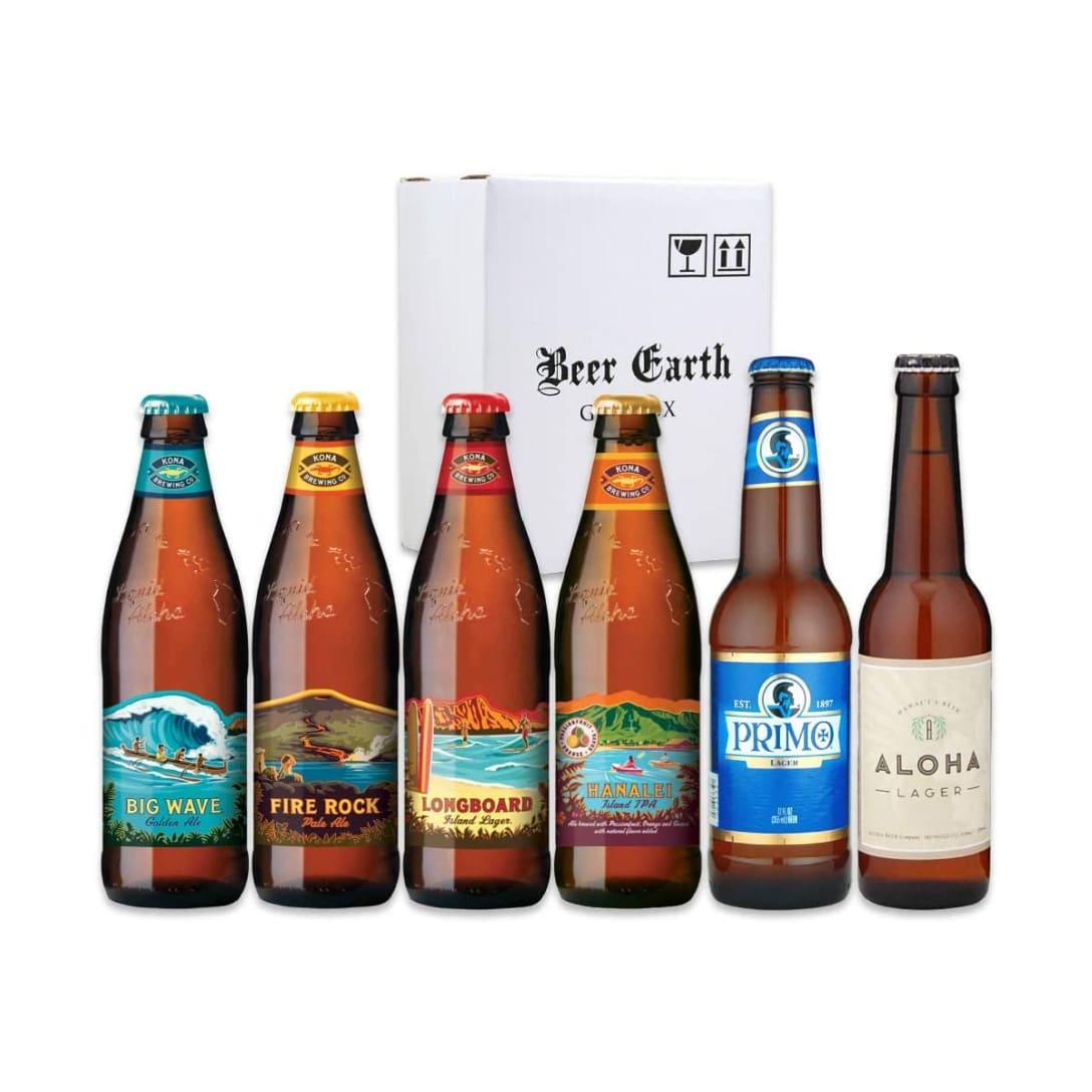 ハワイのビール飲み比べ6本セット ¥3750(消費税込)