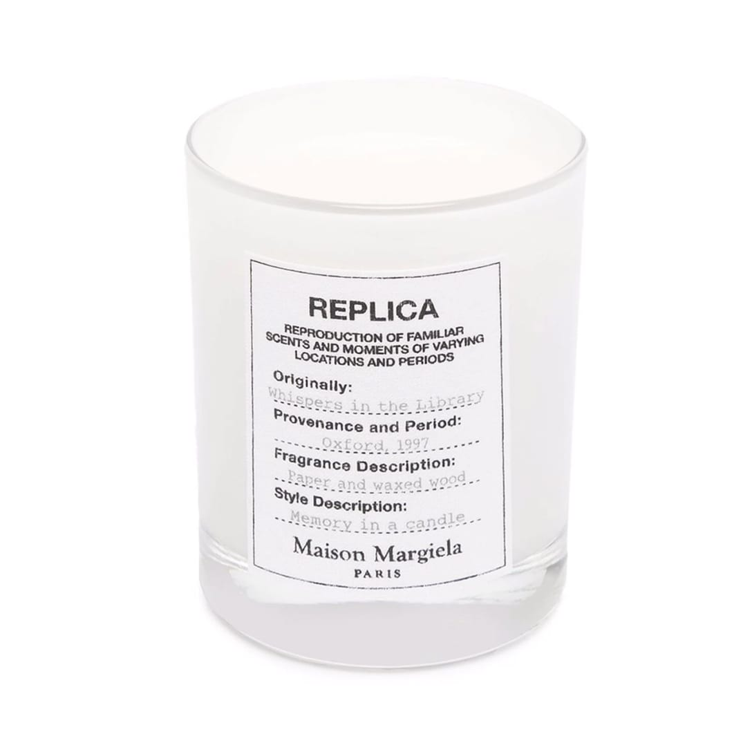 Maison Margiela Replica Whispers in the Library アロマキャンドル ¥6,600 (輸入関税込み)