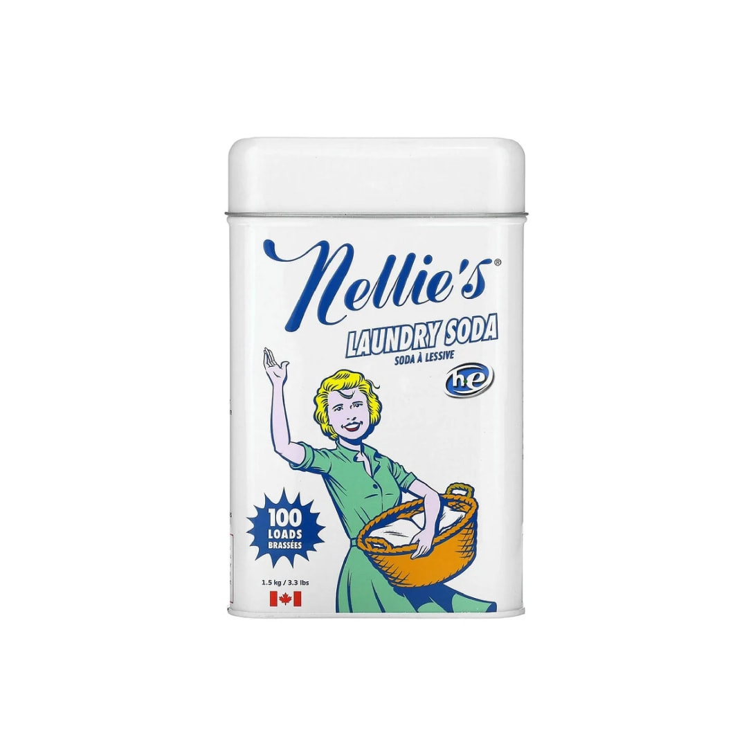 Nellie's, ランドリーソーダ、100回分、3.3 lbs (1.5 kg) ¥2,137(消費税込)