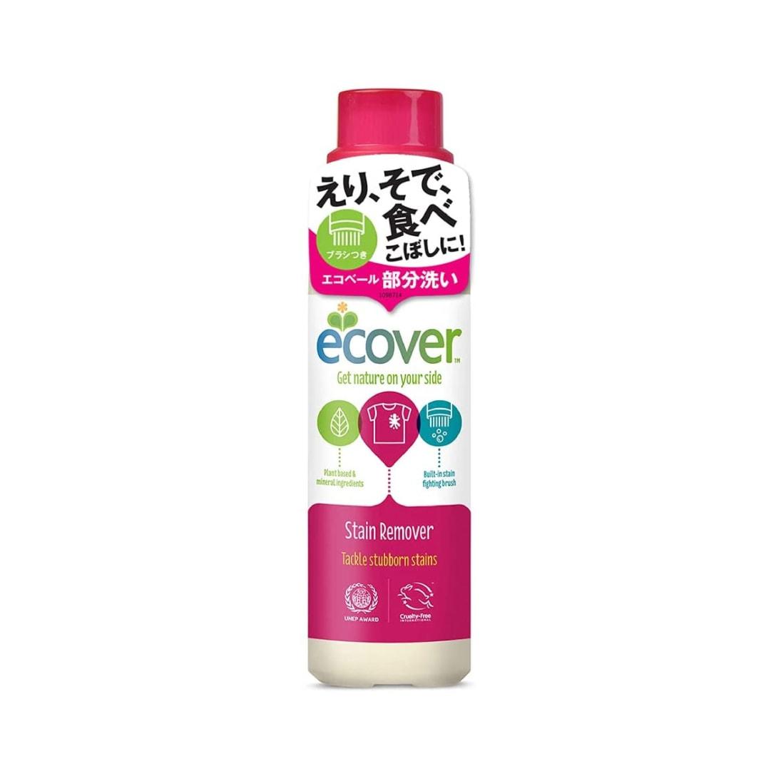エコベール 部分洗い用洗剤 染み抜き剤 ブラシ付き やすらぐラベンダーの香り 200ml ¥548(消費税込)