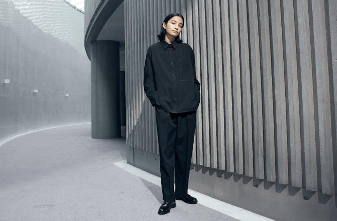 「UNIQLO × Theory」2021年秋冬コレクション Image by ユニクロ
