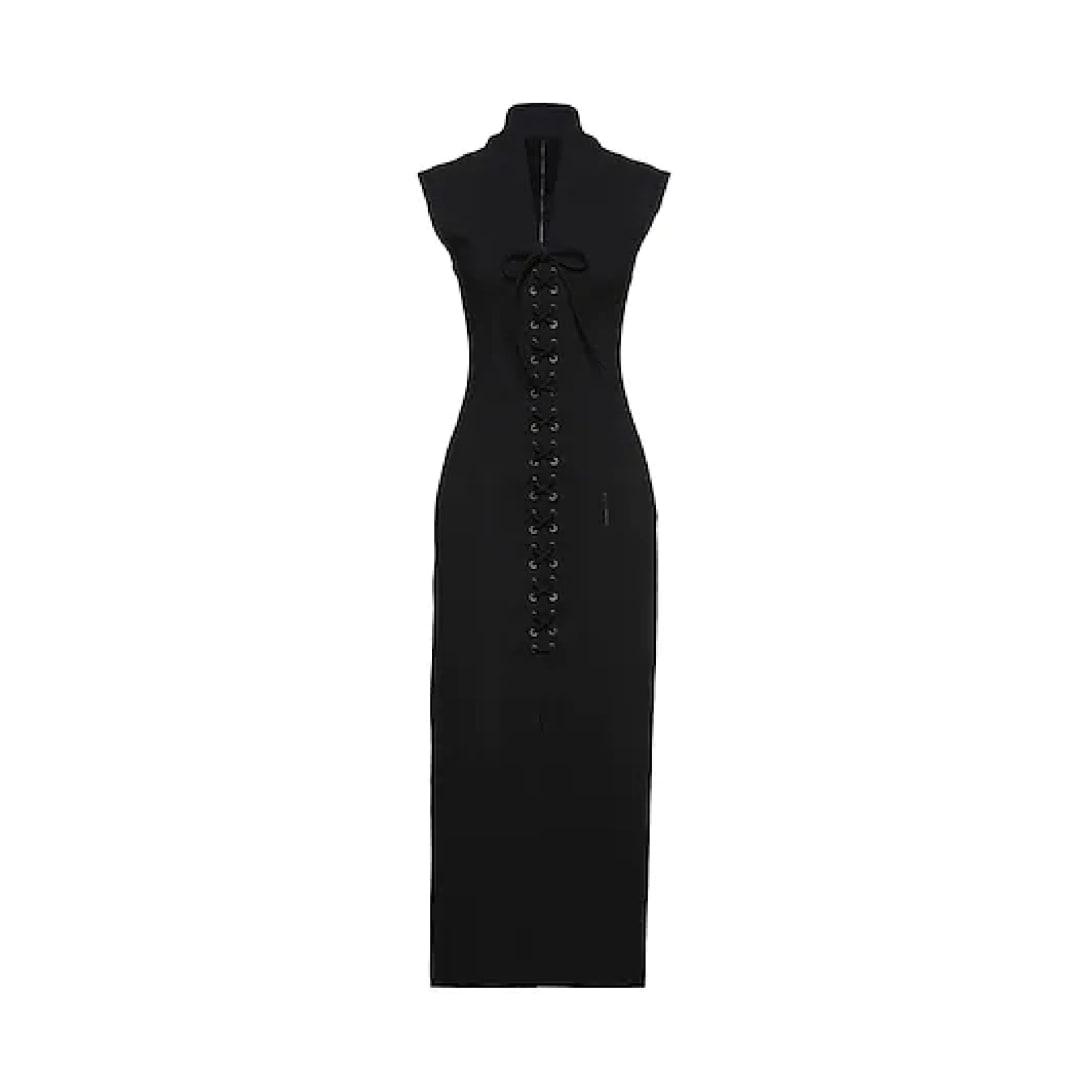 ALAÏA ロングワンピースドレス ¥311.900(関税と消費税込み)