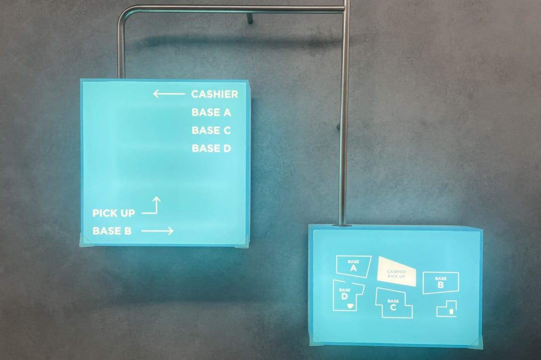 店内のマップ Image by FASHIONSNAP