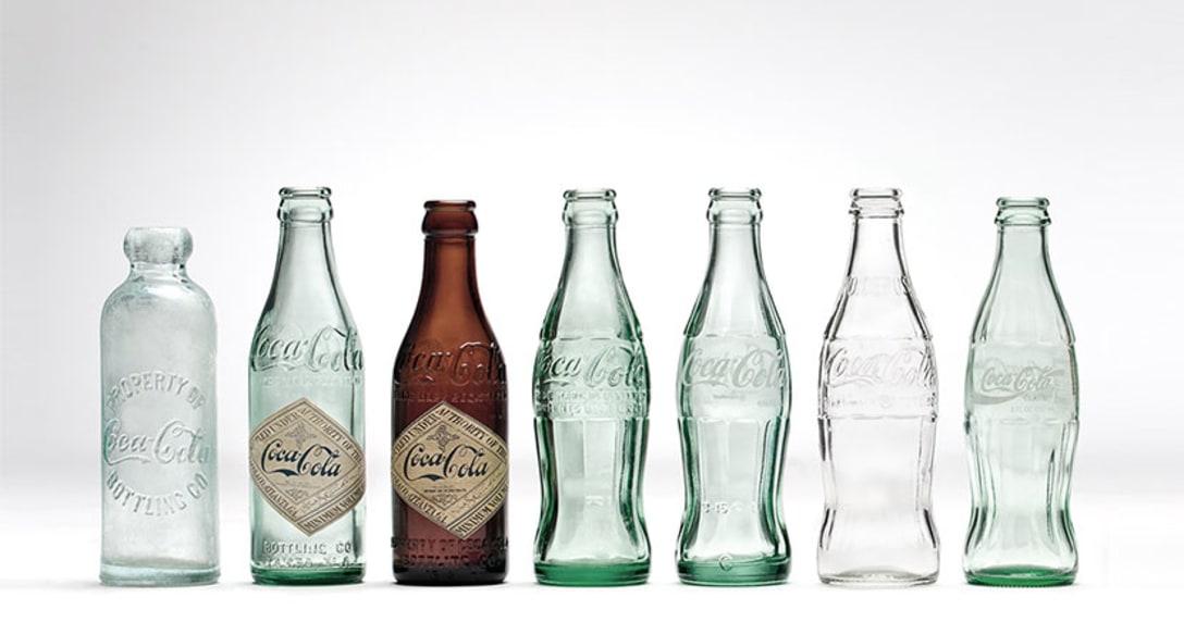 初期の頃は汎用性ボトルにラベルを貼り付けているだけだった