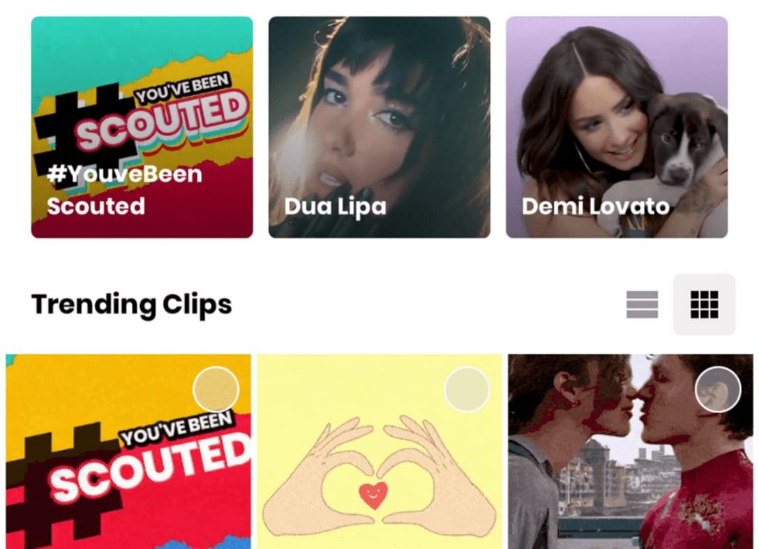 ↑ ミュージックビデオのような本格的なオープニングが挿入できる。