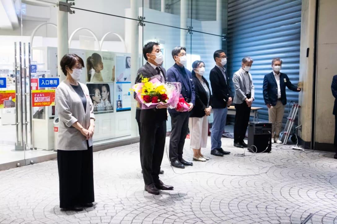 「池袋マルイ」閉店セレモニーの様子 Image by FASHIONSNAP