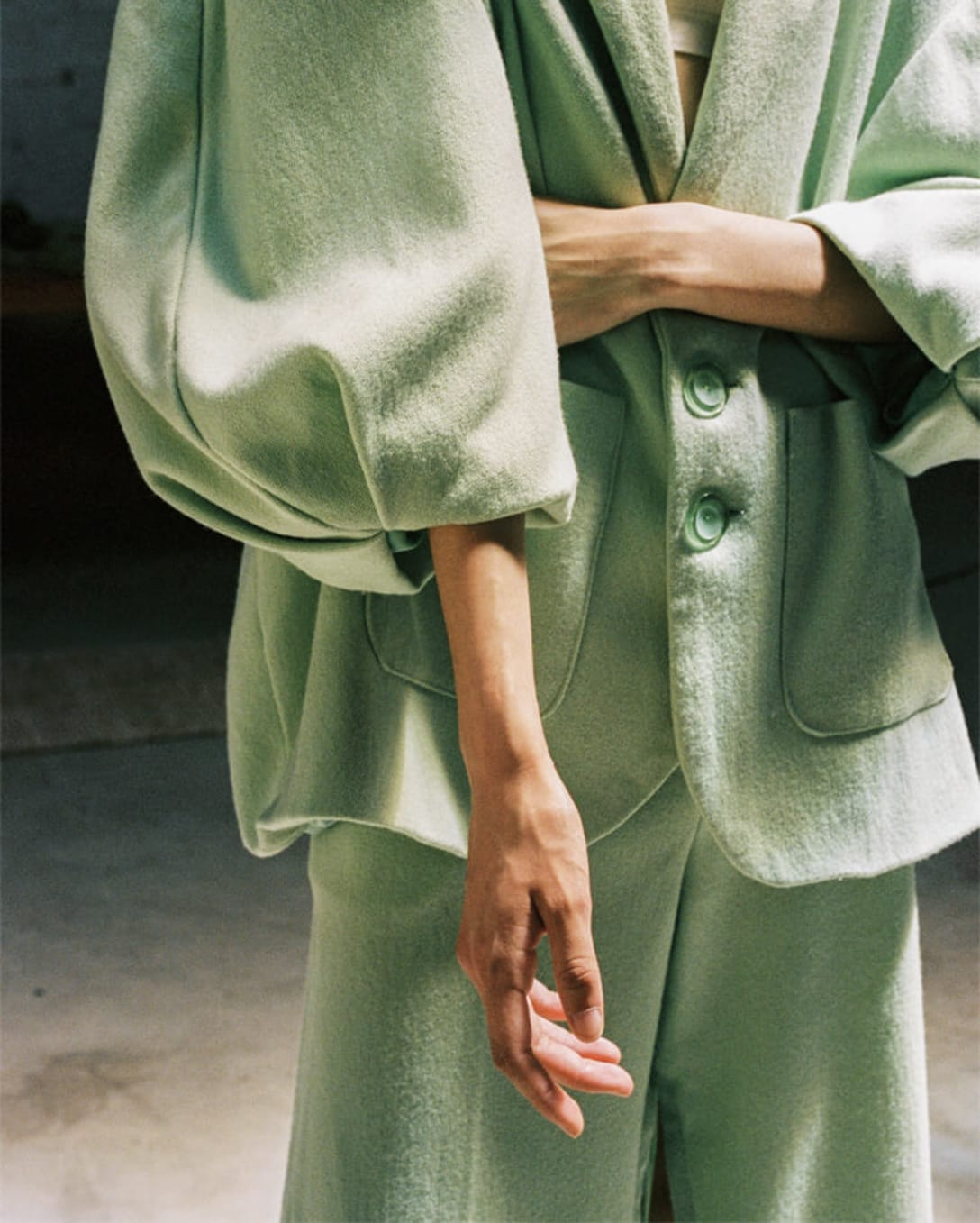 jacket and trousers by ANTONIO MARCIAL
