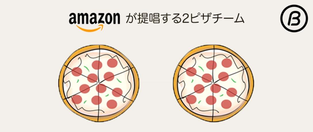 Amazonが採用する2ピザチーム