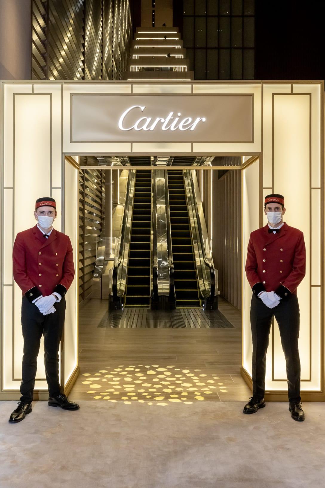 Cartier Salon エントランス