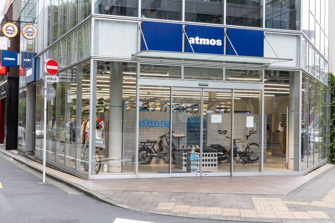 スポーツ ラボ バイ アトモスの出店場所。現在は「アトモス 新宿店」として営業している。