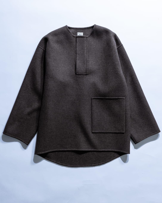 Fine Wool Rever Top(税込9万4600円) Image by FASHIONSNAP