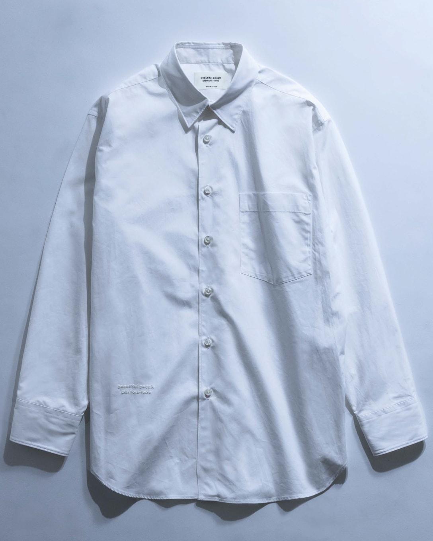 turpan cotton poplin THE / a regular shirt(税込3万2500円) Image by FASHIONSNAP