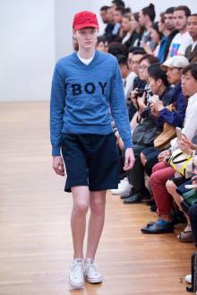COMME des GARÇONS SHIRT BOYS 2016SS パリコレクション 画像2/18