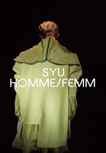 SYU.HOMME/FEMM 2020SSコレクション 画像3/18
