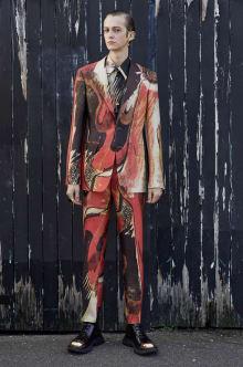Alexander McQueen -Men's- 2020-21AW ミラノコレクション 画像30/46