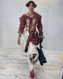 Paolo Carzana 2022SS ロンドンコレクション 画像7/36