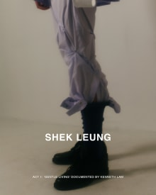 SHEK LEUNG 2022SS ロンドンコレクション 画像17/21