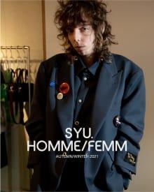 SYU.HOMME/FEMM 2021AWコレクション 画像2/18