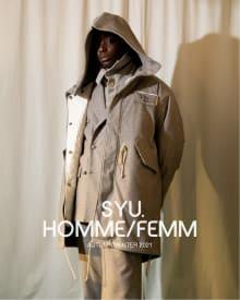SYU.HOMME/FEMM 2021AWコレクション 画像3/18