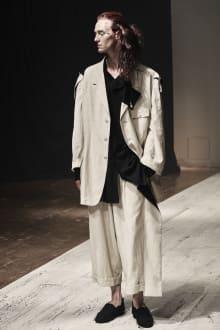 Yohji Yamamoto POUR HOMME 2022SS パリコレクション 画像4/28