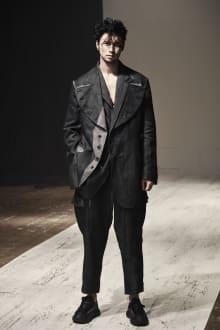 Yohji Yamamoto POUR HOMME 2022SS パリコレクション 画像6/28