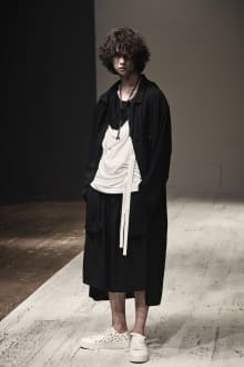 Yohji Yamamoto POUR HOMME 2022SS パリコレクション 画像12/28