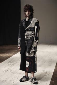 Yohji Yamamoto POUR HOMME 2022SS パリコレクション 画像14/28