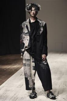Yohji Yamamoto POUR HOMME 2022SS パリコレクション 画像15/28